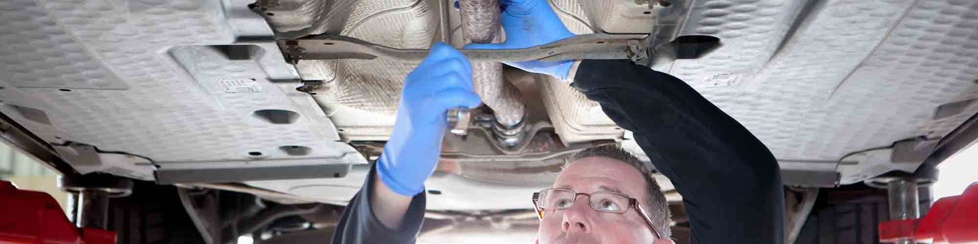 tyre and exhaust repairs